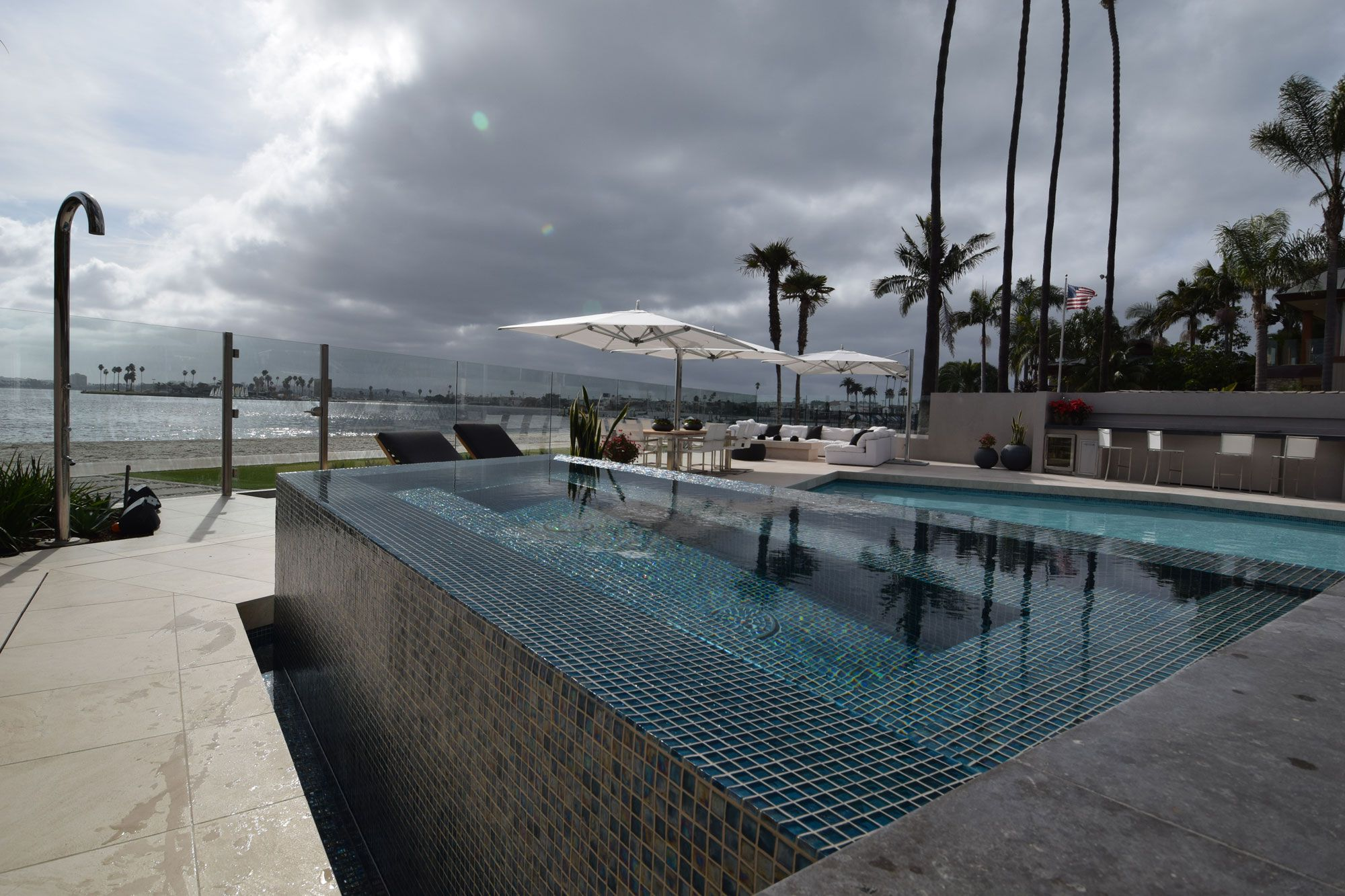 The best tile options for your luxury swimming pool pool for Nicest swimming pools