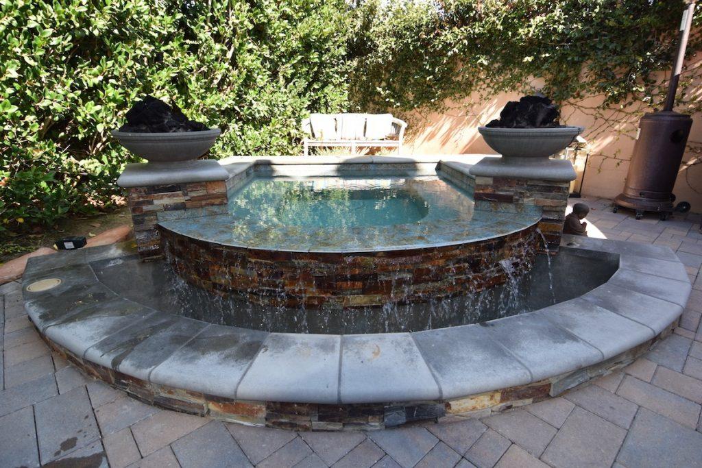 Custom Stone Spa